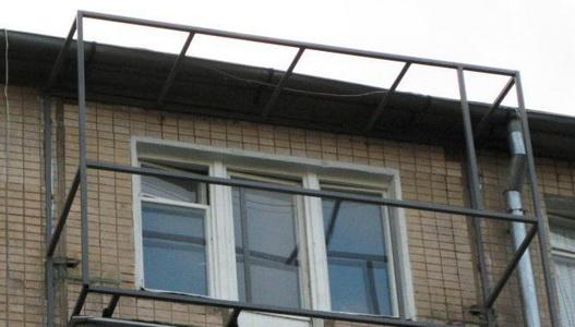 Отрезать козырек на балконе. - дизайны балконов - каталог ст.