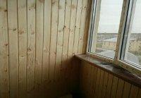 деревянная вагонка обшивка балкона