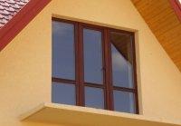 деревянные ламинированные окна