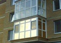 тонировка французского балкона